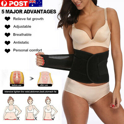 Postpartum Recovery Belly Waist Tummy Belt Shaper Body Support 5 Sizes HiQuality