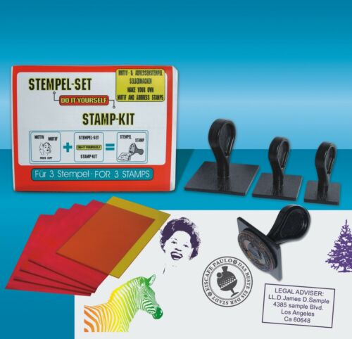 Daylight stamp making kit any motif possible