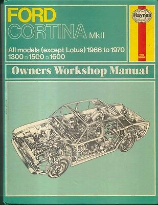 Haynes All But Lotus Owners Workshop Manual 1966-1970 Ford Cortina MK II
