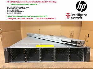 HP-MSA70-Modular-Smart-arreglo-con-kit-de-carril-25x-2-5-034-compartimientos-de-unidades-P-N-418800
