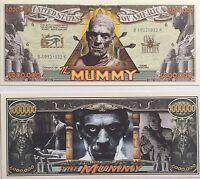 50 X Million Dollar Bill The Mummy Fun Play Money Gift Novelty Gag Halloween