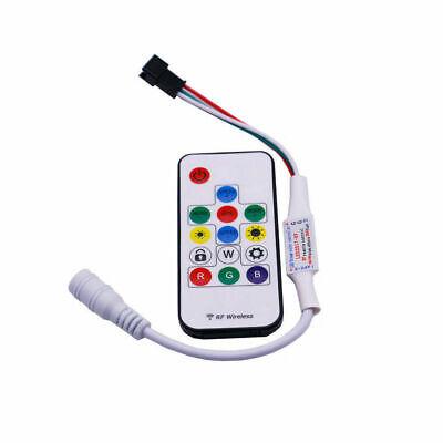 3//14//24 Key RF//IR Remote Wireless Controller For WS2811 WS2812B WS2813 LED Strip