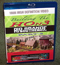 "20151 BLU-RAY HD VIDEO ""BUILDING THE HOn3 RIO GRANDE SOUTHERN"" VOL. 2"