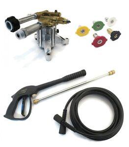 2800 Psi Upgraded Ar Pressure Washer Pump Amp Spray Kit