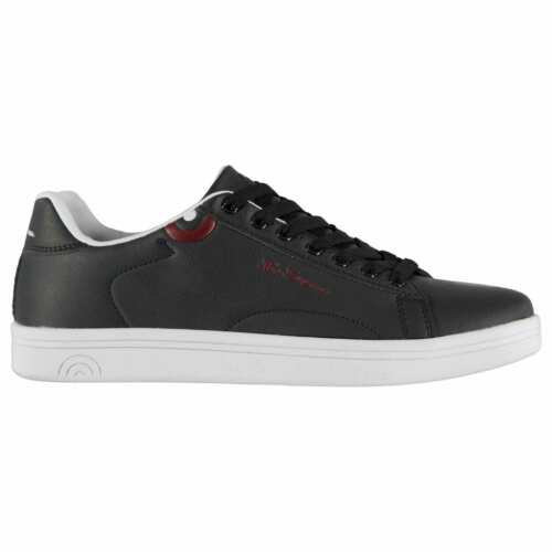 Ben Sherman Mens Storm Trainers Sports Shoes Low Lace Up Padded Ankle Collar