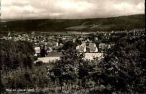 HÜSTEN bei Arnsberg Sauerland ~1950/60 Gesamtansicht alte Postkarte ungelaufen