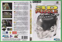3D PUZZLE ADVENTURE.  PC CD ROM GAME (E631)