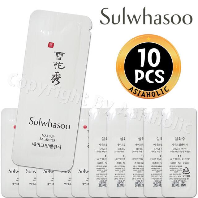 Sulwhasoo Makeup Balancer No.1 Light Pink 1ml x 10pcs (10ml) Sample Newist Ver
