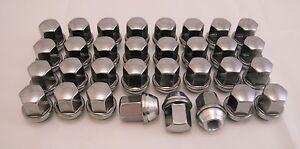 32-New-Dodge-Ram-Factory-OEM-Polished-Stainless-9-16-18-Lug-Nuts-Lugs-2002-11