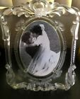 Mikasa Large Princess Frame 11x9 Oval 5x7 Picture Germany