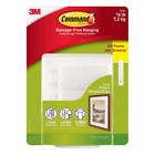 Command 17206 Picture and Frame Large Hanging Strips - Pack of 30, White