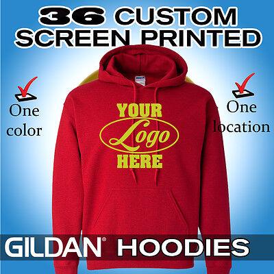 36 custom screen printed hooded sweatshirts hoodies ebay sweatshirts longer in back sweatshirts 36 #8