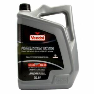 NEW-VEEDOL-ENGINE-OIL-POWERTRON-ULTRA-5W-40-FULLY-SYNTHETIC-5-LITRE-5013D