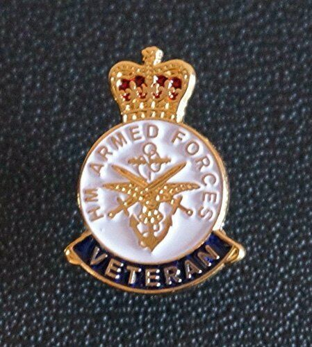 Armed Forces Day Lapel Pin Badge