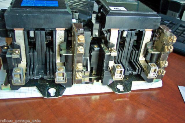 60 AMP 480 VOLT 307-2286 ONAN MC-0-265-48 GOULD TRANSFER SWITCH  DUAL CONTACTOR