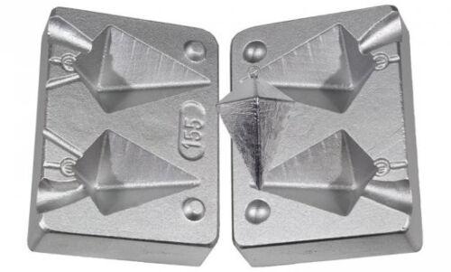 Cast  Aluminum Saltwater  Pyramid Sinker Mold