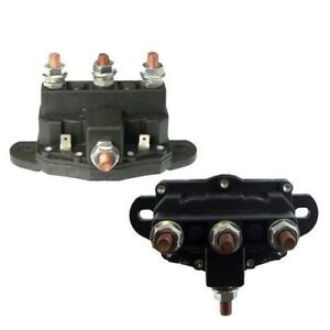 Details about ATV WINCH MOTOR SOLENOID REVERSING POLARITY RELAY SWITCH 6  Terminal DC Contactor