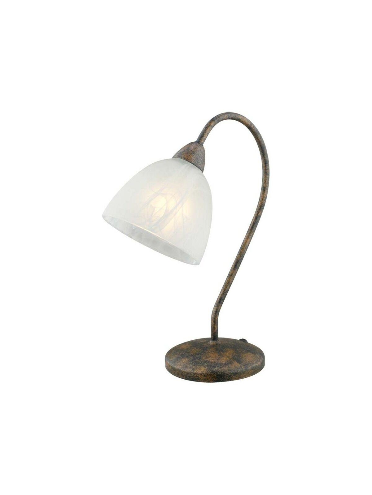 LUMETTO LAMPADA A 1 LUCE CLASSICO FERRO BATTUTO COLLEZIONE GLO 89899
