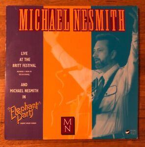 Michael-Nesmith-nesmith-Live-Elephant-Parts-1992-Laserdisc-Monkees-Rare-Wow