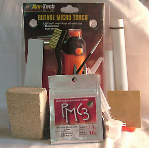 Deluxe-Precious-Metal-Clay-16-grms-PMC3-Silver-Kit
