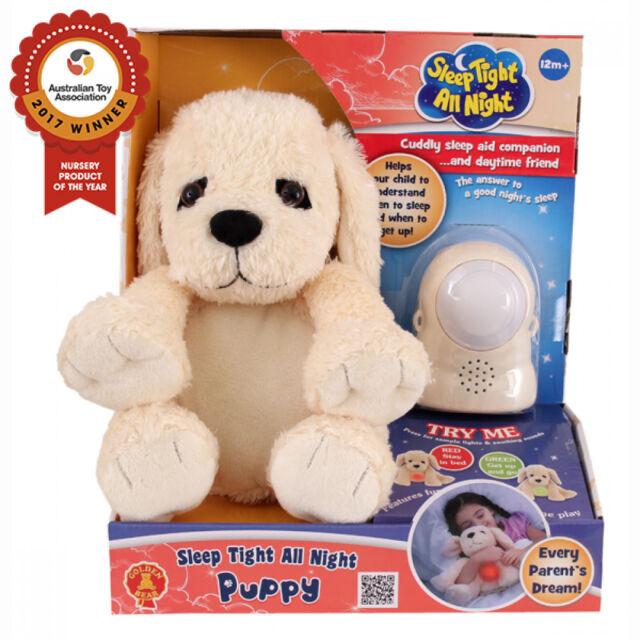 BRAND NEW SLEEP TIGHT ALL NIGHT RUSTY THE PUPPY  DOG