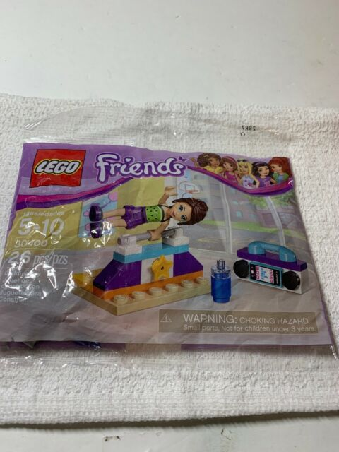LEGO Friends Naomi Gymnastics Bar Polybag Set 30400 NEW 26pcs 6176892