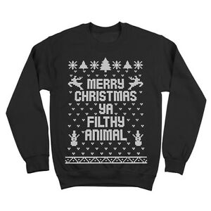 image is loading merry christmas you filthy animal ugly xmas sweater