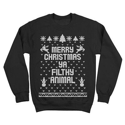 Harry Potter Merry Christmas You Filthy Muggle Sweatshirt