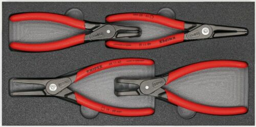 KNIPEX 00 20 01 V09 Zangen-Set in Schaumstoffeinlage 350 mm