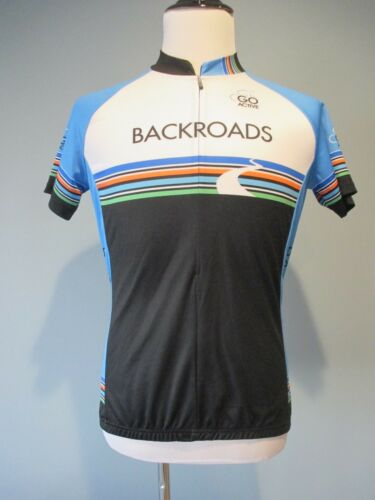 Louis Garneau Cycling Jersey Short Sleeve Women's Large Excellent Condition!