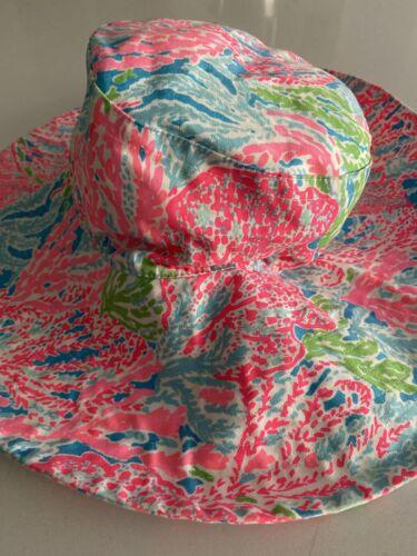Lilly Pulitzer Lets Cha Cha Sun Beach Floppy Hat