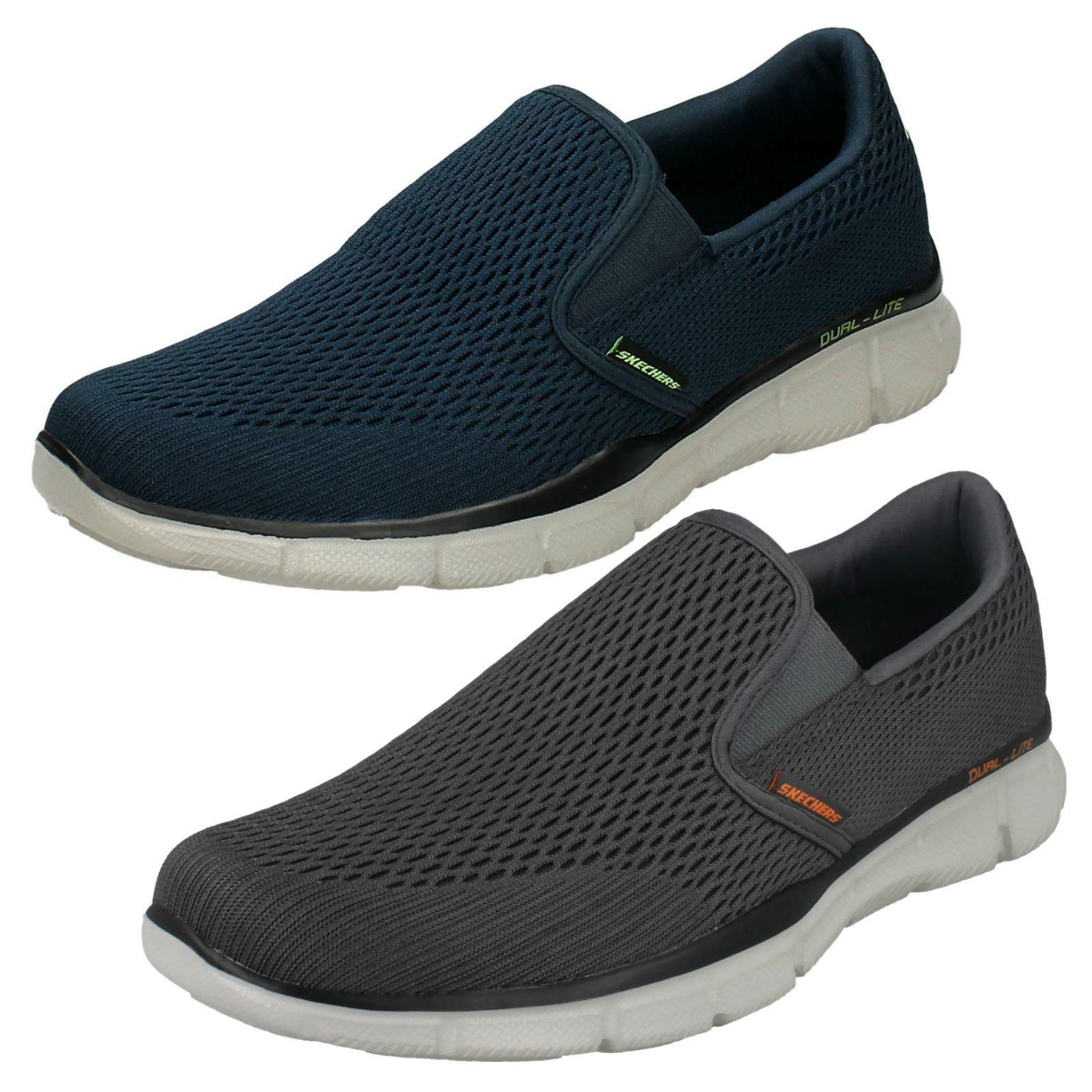 Gran descuento Hombre SKECHERS Equalizador - Doble Zapatillas Sin Cordones Con Espuma de