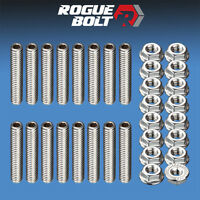 Ford 351c 351m 400m Valve Cover Stud Kit Bolts Stainless Steel Boss 302 351