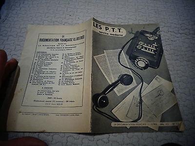 Eerzuchtig Ancien Livret Les P.t.t Service Moderne 1951 La Poste Centre De Tri Telex Koop Altijd Goed