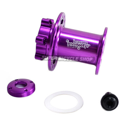Circus Monkey Disc CNC Lefty Front Hub For Cannondale,32 Hole,lila