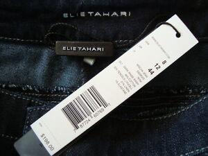 NWT-198-ELIE-TAHARI-MISCHA-DARK-RINSE-Wash-Skinny-Leg-Jeans-Sz-8