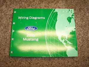 image is loading 2016-ford-mustang-electrical-wiring-diagrams-manual-gt-