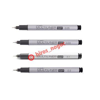 0.3 Copic Marker Multiliner Fine Nib Inking Pen~Black A~0.03,0.05 0.1
