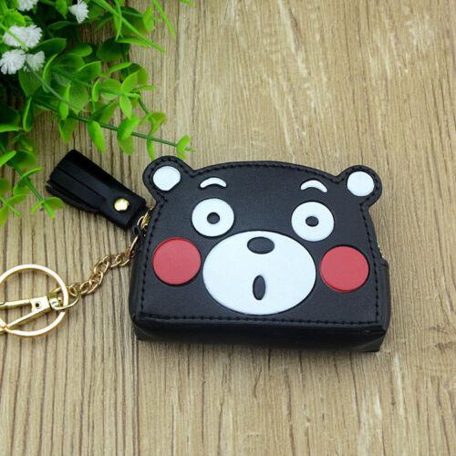 Kumamon PU anime coin purse wallet small handbag bag new