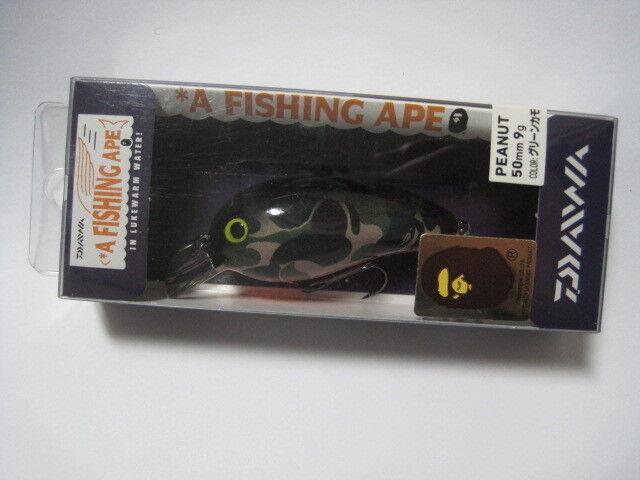 Daiwa un Color verde Camuflaje Pesca Mono maní  Nuevo en paquete    Bape  alta calidad