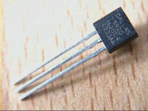 Dallas DS18B20 digital Temperatursensor 1 Wire TO92 //-0,5° C Arduino 070.