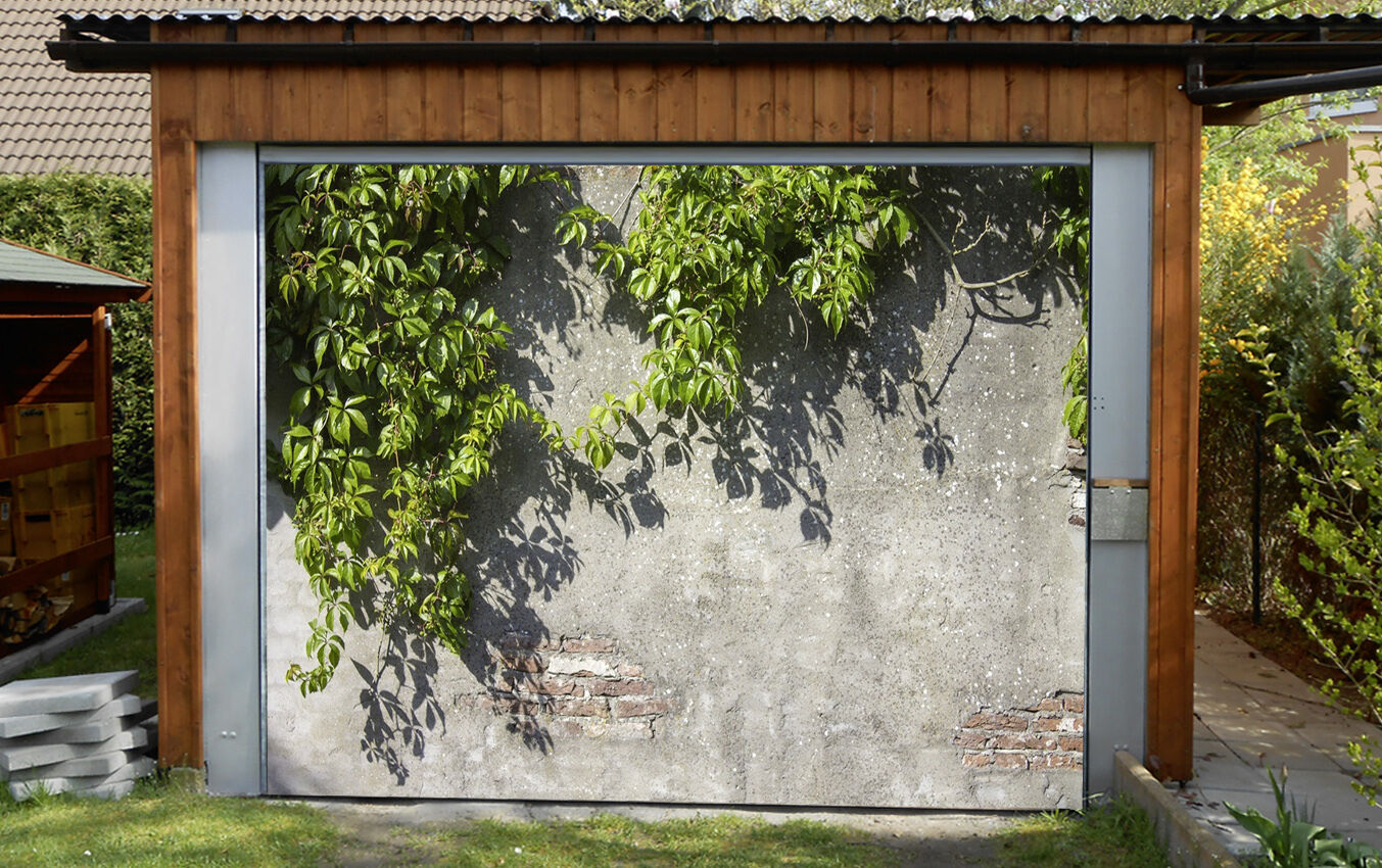 3D Grün leaves 6 Garage Door Murals Wall Print Decal Wall Deco AJ WALLPAPER UK