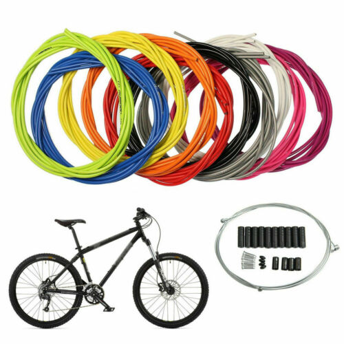 Brake Cable Set Jagwire Front /& Rear Inner Outer Wire Gear Mountain Bike Bicycle