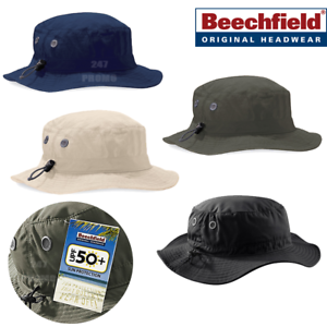Image is loading BEECHFIELD-CARGO-BUCKET-HAT-SUMMER-SUN-PROTECTION-UPF- e26b2effb4