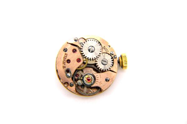 100% Wahr Eta Handaufzug Uhrwerk - Kaliber 2412 - Inkl. Zifferblatt Und Zeiger