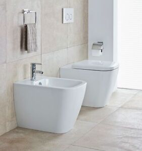 Details about Duravit Health Series Happy d.2 Toilet Bidet + + copriwc Soft  Close Made in Italy- show original title