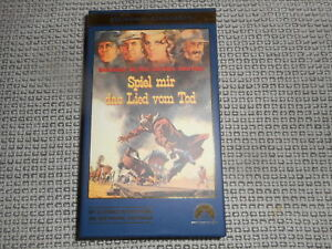 SPIEL-MIR-DAS-LIED-VOM-TOD-VHS-GOLDEN-CLASSICS-ungespielt-mit-BUCH