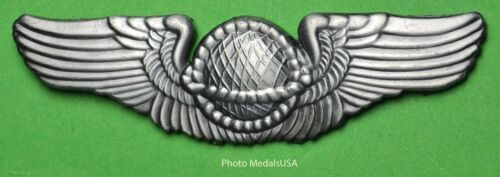 """Army Air Corps NAVIGATOR US AAF WWII 2 3//4/"""" Wing"""