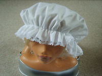 LADIES/GIRLS VICTORIAN,EDWARDIAN,MAIDS COSTUME,OUTFIT MOP CAP BNWOT