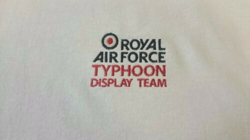RAF ROYAL AIR FORCE TYPHOON DISPLAY TEAM POLO SHIRT